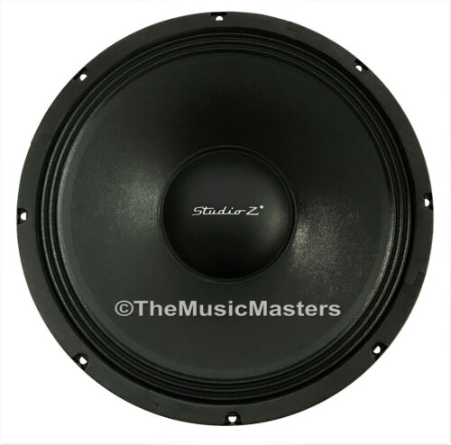 "1X Single 15"" inch 8 ohm WOOFER Bass Speaker Studio Home Cabinet Sub Replacement"