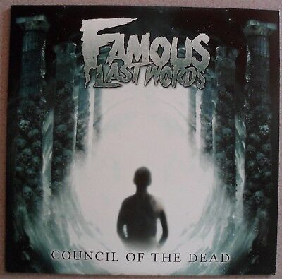 FAMOUS LAST WORDS - COUNCIL OF THE DEAD - LIMITED [500 ONLY] GREEN VINYL