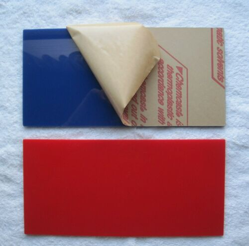 TWO WALLPAPER SMOOTHER SWEEP TOOLS & Trim Guides Paperhanging tool, RED & BLUE