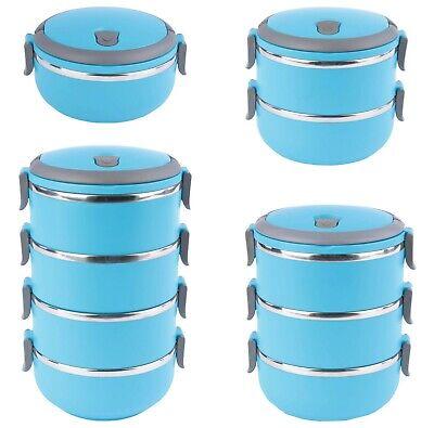Thermo Lunchbox Brotdose Vesperdose Thermos Behälter Speisebehälter Essen
