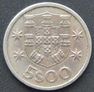 Portugal 5 Escudos 1965 zusätzlich: 50 Centavos 1975, 1 Escudo 1970