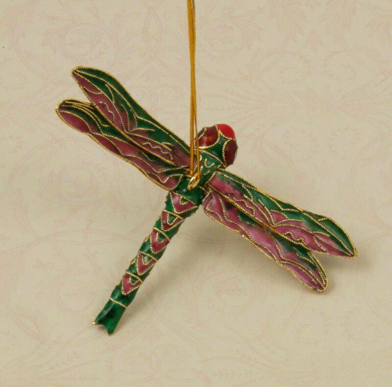 Cloisonne Large Dragonfly