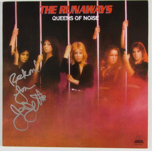 Joan Jett The Runaways JSA Signed Autograph Record Album Vinyl Queen Of Noise