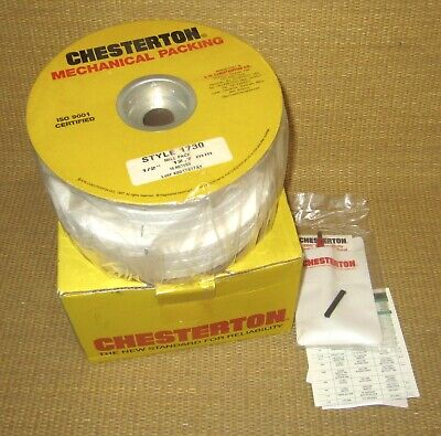 Chesterton Mechanical Packing Newnos .5 12 16 Meters Style 1730 Mill Pack