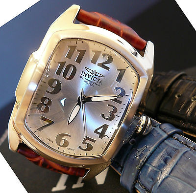 Invicta 5726  Men's 40mm Lupah Special Edition Watch with 3 Strap Gift Set