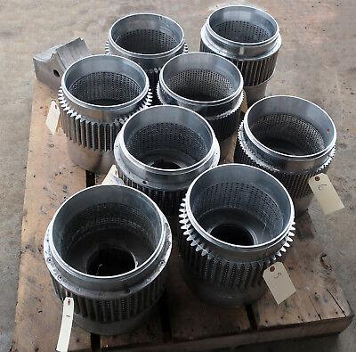 Pellet Mill Dies-stainless Steel 5mm 5.8mm 6mm Holes-lot Of 8-used