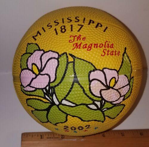 2002 Mississippi Magnolia State Mini Basketball Commemorative Quarter Souvenir