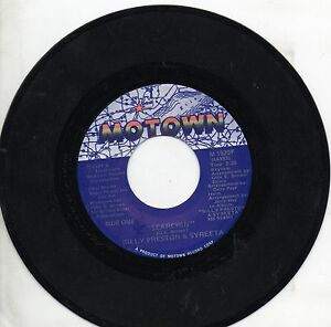 BILLY-PRESTON-amp-SYREETA-disco-45-giri-MADE-in-USA-Searchin-039-Hey-you-1981