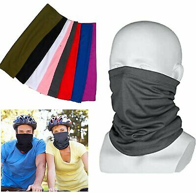 Face bike Mask Sun Shield Neck Gaiter Balaclava Neckerchief Bandana Headband Clothing, Shoes & Accessories