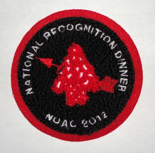 2012 NOAC National Recognition Dinner Chenille OA Patch - Order of the Arrow