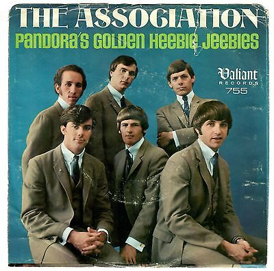 Association 1966 Valiant 45Rpm Pandoras Golden Heebie Jeebies Curt Boettcher