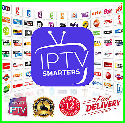 IP*TV smart pro 12 mois (✔ M3U ✔ Smart TV ✔ Android ✔ MAG)