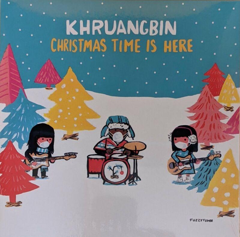 "Khruangbin - Christmas Time Is Here b/w (Version Mary) 7"" NEW Ltd Red Vinyl"