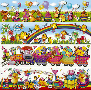 ... -Decorazione-Finestre-Adesivo-da-parete-Sticker-Pasqua-Primavera-XXL