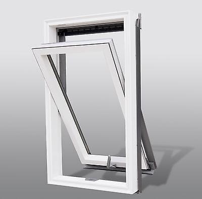 Kunststoff Dachfenster 55 x 78 cm Schwingdachfenster +Eindeckrahmen von Solstro