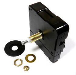 High Torque Clock Motor (SILENT) Extended Shaft For Long Hands, Long Shaft 9/16