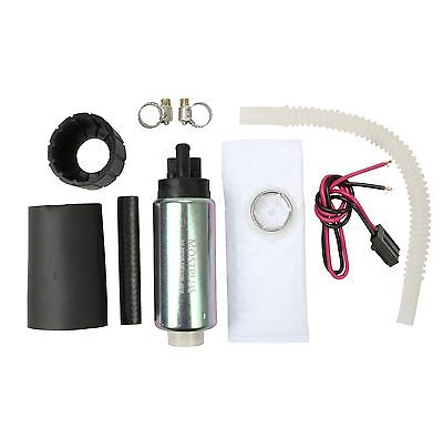 - 255LPH Center Inlet High Performance EFI Fuel Pump & Kit Replaces GSS340