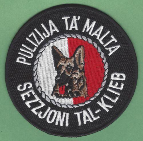 MALTA POLICE K-9 UNIT PULIZIJA TA