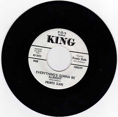 NORTHERN SOUL 45RPM - PRENTIS SLADE ON KING - RARE PROMO!