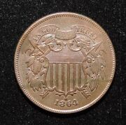 Civil War Coin 1864