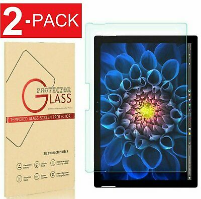 (2 Pack) Surface Pro 6 / pro 4/ Surface pro 2017 Tempered Screen Protector 12.3″ Computers/Tablets & Networking