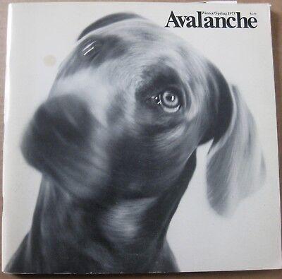 Avalanche #7, 1973 Willoughby Sharp, Lisa Bear, Ed Ruscha, General Idea, Van Sch