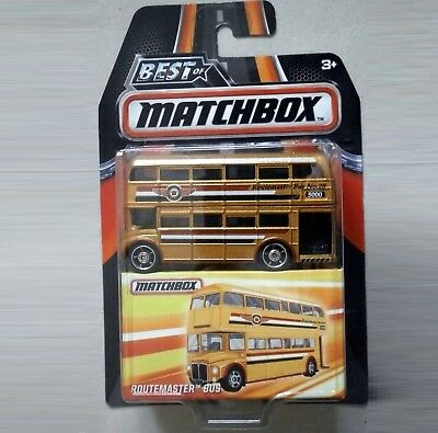 Routemaster DOUBLE DECKER Bus. Best of Matchbox. DKC92. NEW in blister