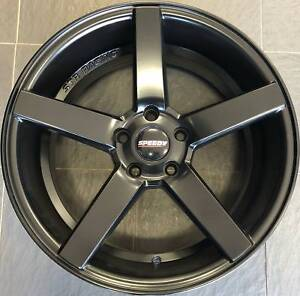 SET OF FOUR (4) SPEEDY 18x8 5/114.3 et35 HAMMER Gladesville Ryde Area Preview