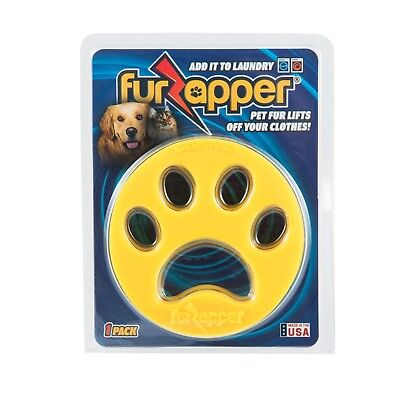 FurZapper 1-Pack - Pet Hair Remover for Laundry- Use in Washer and Dryer