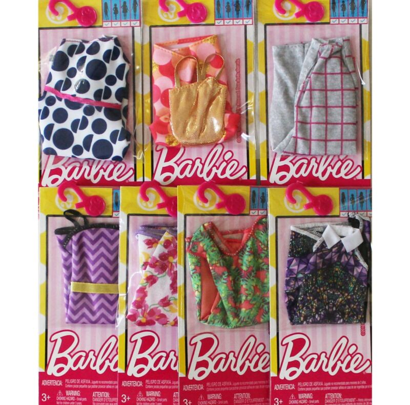 NEW Barbie Doll Clothes Dress Shoes Dog Drink Dolphin BYO-Barbeque Set Fashion