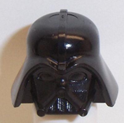 Lego Darth Vader Star Wars Helmet x 1 Black for Minifigure - Darth Vader Helmet For Kids