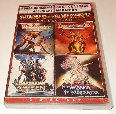 Roger Cormans Cult Classics: Sword and Sorcery Collection (DVD, 2011 2-Discs) (Roger Cormans Cult Classics Sword And Sorcery Collection)