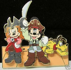 Disney-DCL-Pirates-of-Castaway-Cay-Mickey-Minne-Artist-Proof-AP-Pin