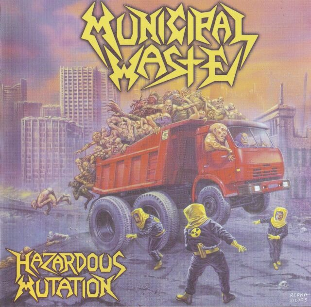 Municipal Waste Hazardous Mutation CD - NEU