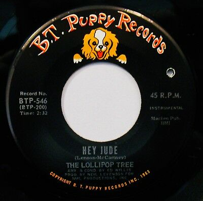 THE LOLLIPOP TREE-Hey Jude & Peace 45-THE BEATLES-B.T. PUPPY #BTP 546](The Lollipop Tree)