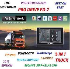 7-Inch-Truck-Sat-Nav-3-in-1-Navigation-Bluetooth-Lorry-HGV-Car-caravan-GPS
