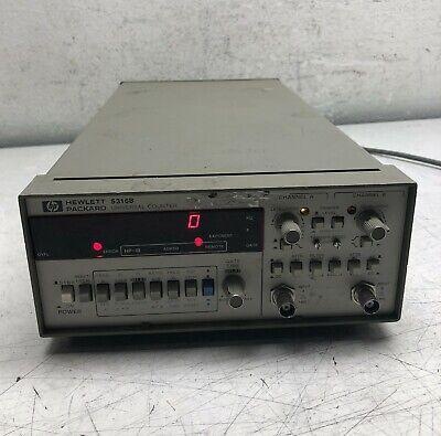 Hp Hewlett Packard 5316b Universal Counter Dual Channel