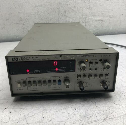 HP HEWLETT PACKARD 5316B UNIVERSAL COUNTER DUAL CHANNEL