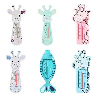 BADETHERMOMETER Baby Thermometer für Badewanne GIRAFFE & FISCH Design °NEU°