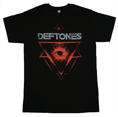 DEFTONES - Triangle Eye Logo - T SHIRT Sizes S-M-L-XL-2XL Brand New