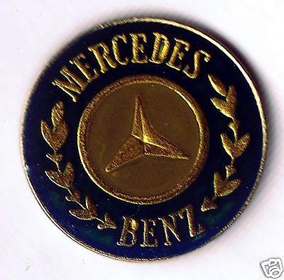Automotive collectibles - Mercedes Benz logo tac style pin