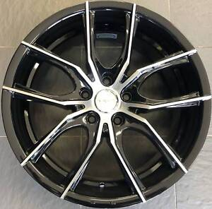 SET OF FOUR (4) PDW 18x8 5/120 et42 POISON Gladesville Ryde Area Preview
