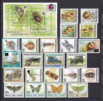 Papua New Guinea postfrisch Jahrgang 1994 !! ohne MiNr. 714-724
