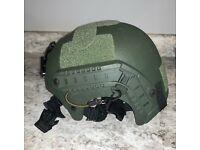 W99 Advanced Army Assault Helmet compatible w// toy brick minifigures IBH-G