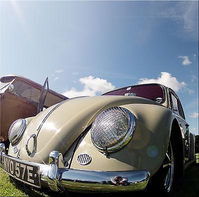 Faro Parrilla Malla Clásico Para VW Escarabajo Porsche 356 Splitscreen AAC003