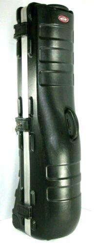 SKB Cases ATA Deluxe Standard Plastic Storage Wheeled Golf Bag Travel w/ 2 key *