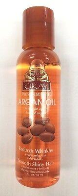 Okay Pure Naturals Argan Oil For Hair   Skin 2 Oz