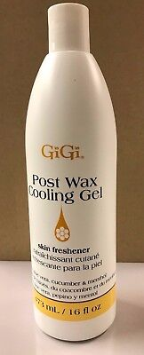 ***GiGi*** After Wax Cooling Gel Post Waxing Treatments- one 16 oz  bottle (After Waxing Gel)