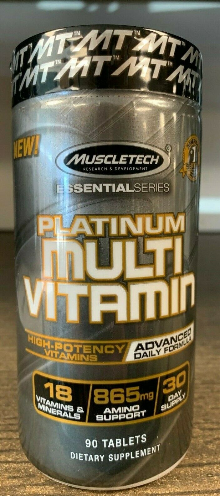 MuscleTech Platinum MULTIVITAMIN 90 Tablets Fast Free Shippi
