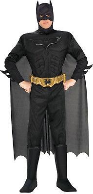 Batman-Kostüm für Herren mit Muskeln schwarz Cod.175203 ()